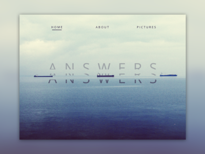 Answers web design landing page webdesign