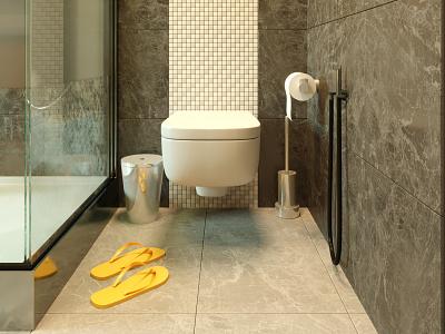 Nuremberg Bathroom au2020 architizer cgartist architecture visualization archilovers coronarender allofrender design architecture design 3dsmax