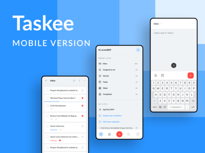 Taskee Mobile
