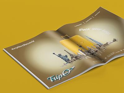 TripO Magazine Ad poster ad magazine ad creative design design branding
