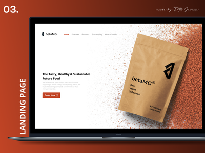 Landing Page website landing fitness startup betamg ui logo design dailyui color branding app aesthetic 100daysofdesign
