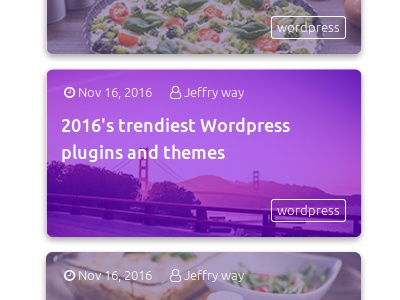 Parvaz - HTML Popular Posts Widget template theme widget css html bootstrap