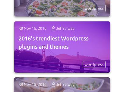 Parvaz - HTML Popular Posts Widget template theme widget css html bootstrap