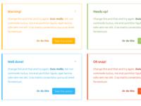 Parvaz - HTML Bootstrap Alerts