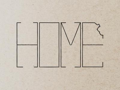 Kansas   Home kansas home state illustration