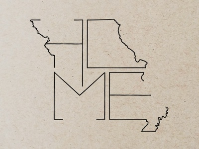 Missouri | Home missouri state illustration home