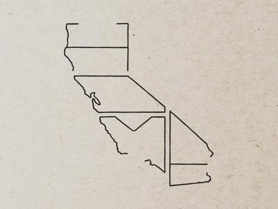 California   Home california state illustration home
