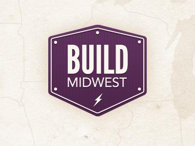 Build Midwest avenir identity logo league gothic
