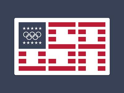 U★S★A us olympics flag united states usa