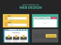 Gestalt principles applied to web design