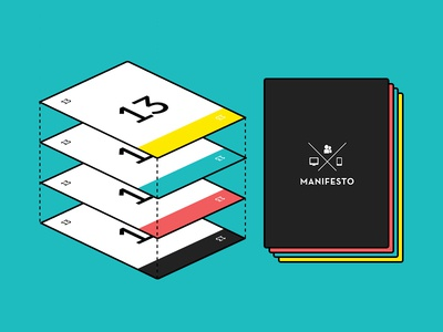 Manifesto Planning Poker® Cards planning poker agile cards points deck illustration scrum estimation sprint