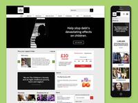 The Children's Society digital rebrand