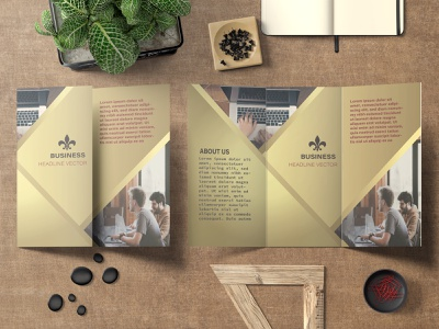 Creative Tri fold brochure bi fold brochure tri fold brochure
