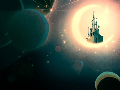 Land of Nod digital illustration childrens book in progress