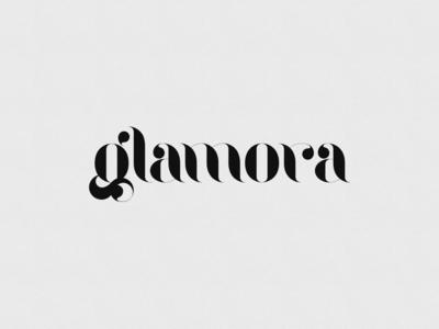 Glamora Typeface