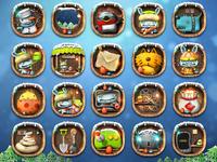 Mobile phone theme Icon design