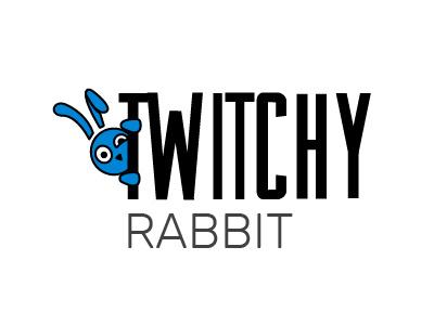 Twitchy Rabbit Logo thirtylogos rabbit logo emailmarketing thirtyflirtyandthriving