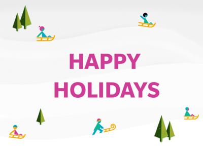 Happy Holidays Dribbblemaniacs!