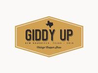 2016 Giddy Up Logo