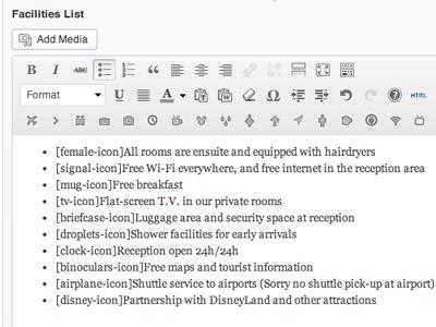Tinymce Icons wordpress icons tinymce