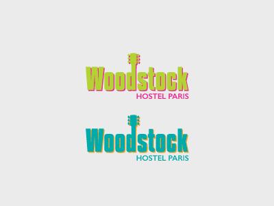 Woodstock logo retro