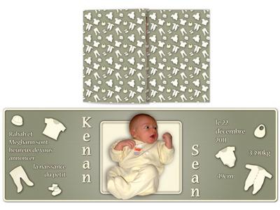 Birth Announcement birth announcement card
