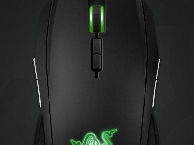 Razer Taipan illustration photoshop razer mouse vector