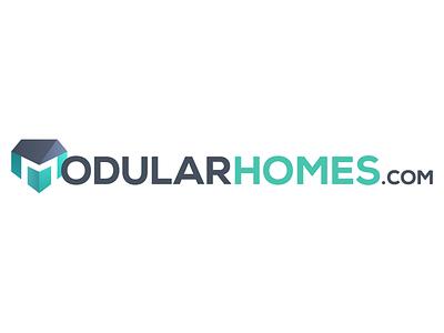 Modularhomes.com Logo identity branding home ai illustrator logo
