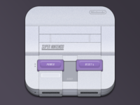 Console Icons - SNES