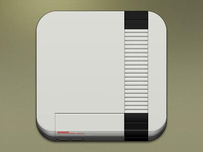Console Icons - NES theme retro photoshop ios icon nes nintendo gaming console