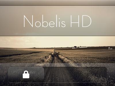 Nobelis HD nobelis lockscreen ios iphone lock screen theme hd port retina