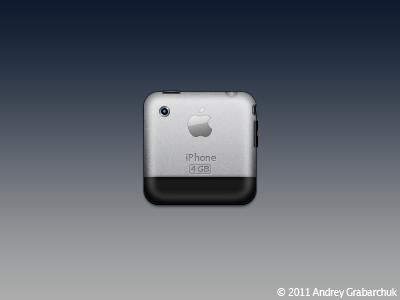 iPhone 2G Icon ios hd theme iphone 2g phone icon murdercitydevil