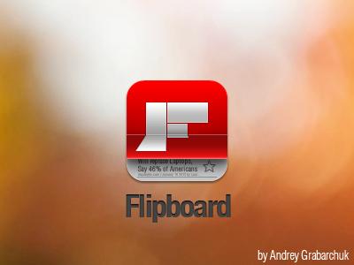 Flipboard Final ios flip board flipboard icon stock app