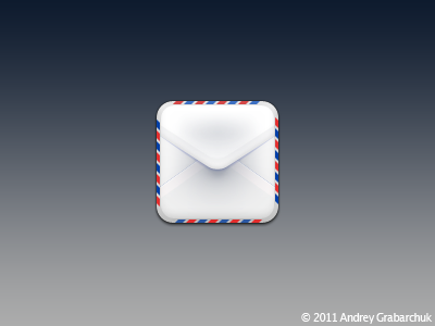 Mail WIP ios theme mail icon murdercitydevil