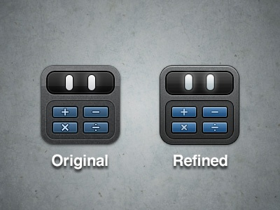 Calcbot Refinement ios iphone ipad icon theme app calcbot tapbots