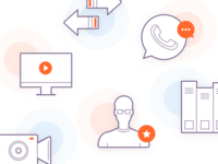 Icons for online learning