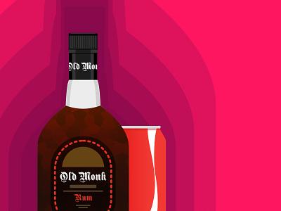 Rum in Peace... old monk brewex