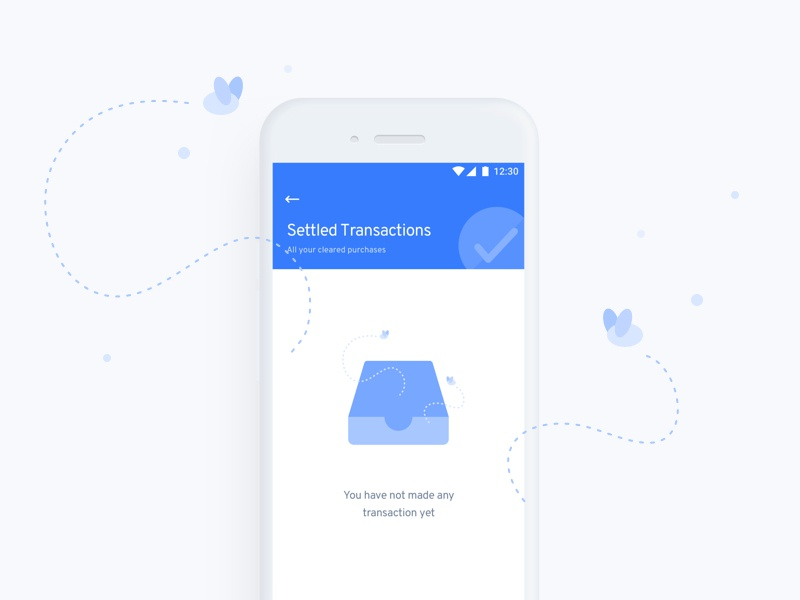 Empty state for transactions transaction illustration empty