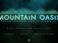 Mountain Oasis Electronic Music Summit