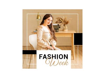 Luxury  Fashion Social Media Post ui vector illustration photoshop banner marketing design logo graphic design branding