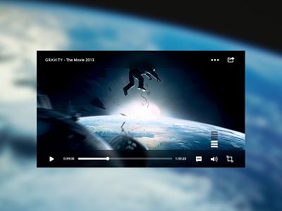 Video Player video player movie webtv space