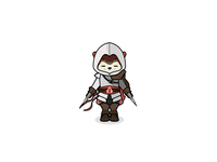 Squireel Altair cosplay geek assassin altair squireel squirrel video games assassins creed