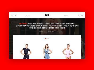 Joli Fashion sport e-commerce online store shop fashion