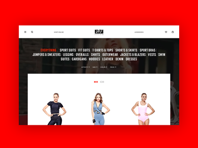 Joli Fashion sport e-commerce online store shop fashion