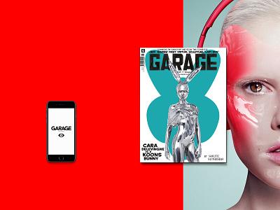 Garage App design app alxfirs alexfirs typography art process fashion iphone ipad mobile animation interface web ux ui