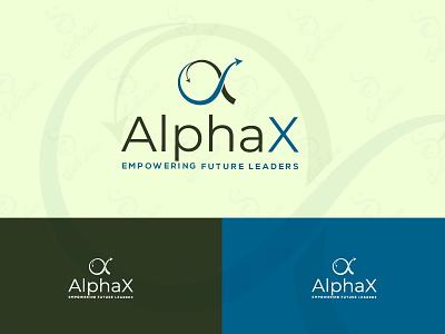 AlphaX corporate corporate identity unusual transfer simple logo modern iconic transaction alpha logo unique logo creative logo flat logo design minimalist logo beautiful minimal branding creative brand