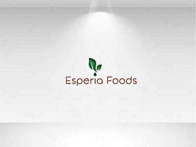 Esperia Foods flat logo natural food clean design sleek logo modern logo unique logo simple logo design minimal creative minimalist beautiful logo branding brand