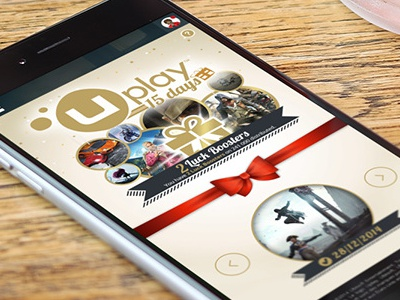Ubisoft Uplay 15 Days christmas uplay ubisoft advent calendar responsive mobile