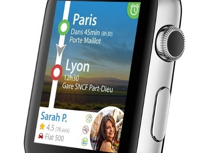 BlaBlaCar on Apple Watch app applewatch smartwatch watch apple blablacar