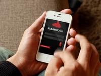Steambook - Logo & UI #2
